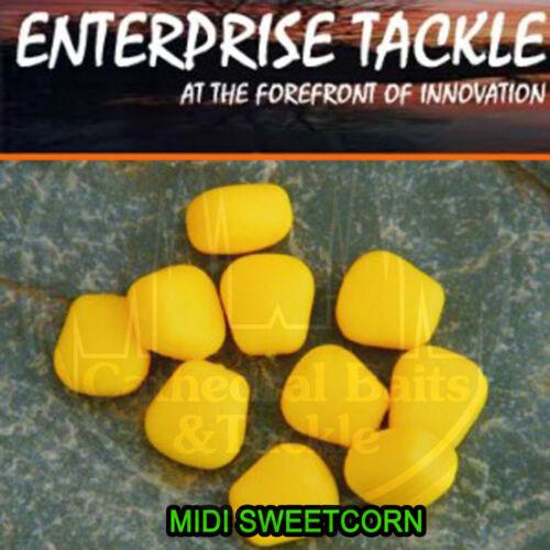 Enterprise Tackle Midi Yellow Popup Sweetcorn Unflavoured Carp Coarse Fishing