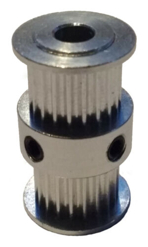 20 Teeth 5mm Diamenter Shaft Double GT2 Pulleys Dual 3D Printer