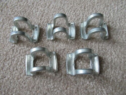 5 vintage early style seat post clamp parts bicycle bike parts pre war balloon