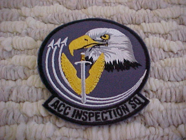 US Air Force Military HQ USAFE Inspector General In Europe