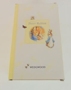 The-Original-Peter-Rabbit-WEDGEWOOD-Baby-Feeding-Set-Bowl-amp-Cup-2006-New