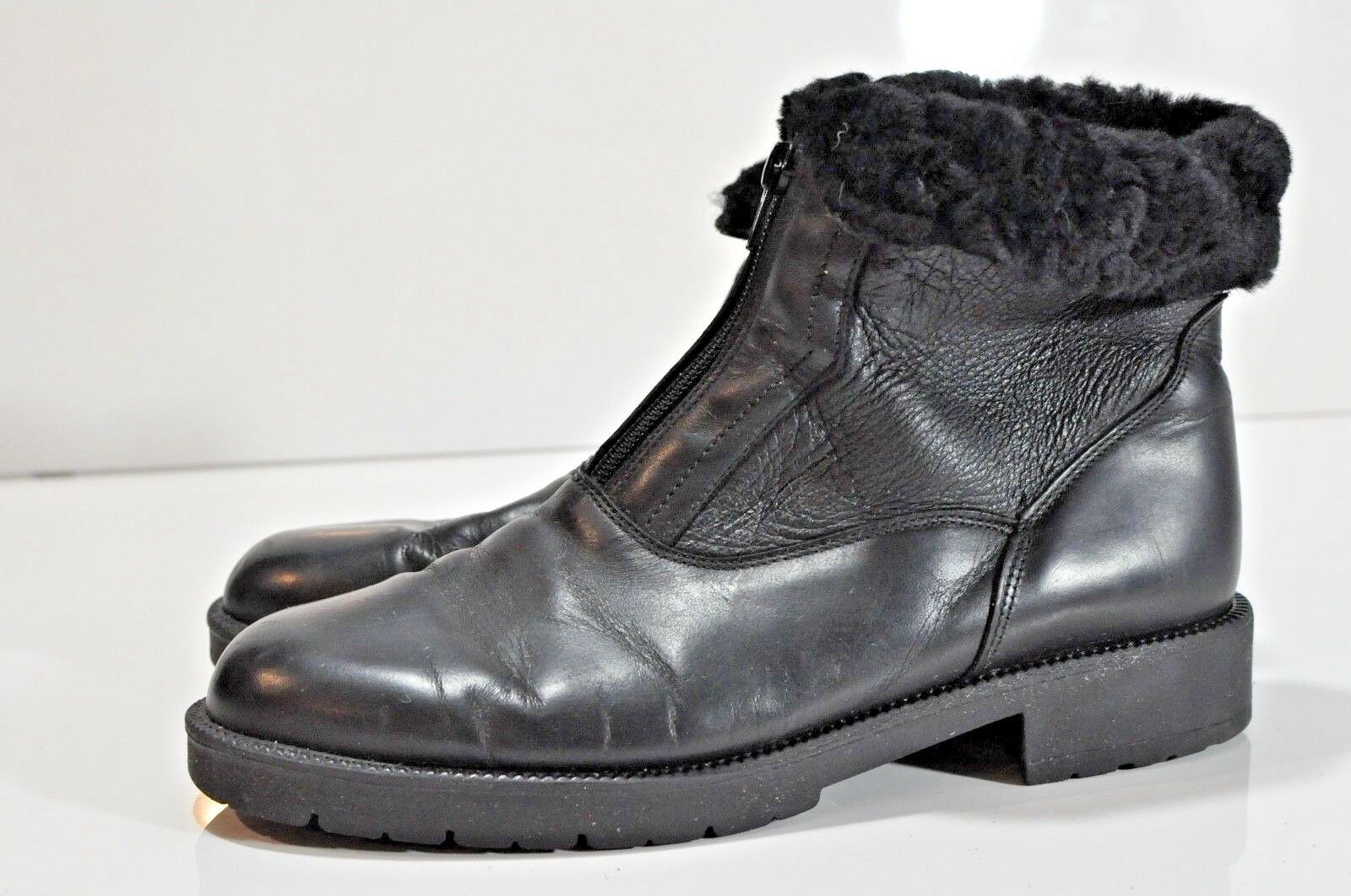 Vintage Santana Aquatherm Womens leather boots size 9 made in Canada