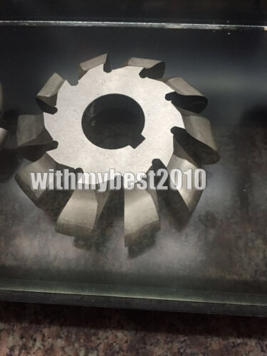 HSS Roller Chain Sprocket Gear Cutter 15.875×10.16 Cutting Range 12-17 teeth 3#