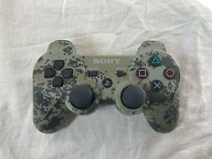Tested-Official-Playstation-3-DualShock-3-Sixaxis-Urban-Camo-Controller-PS3-OEM