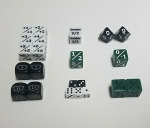 MTG-Dice-Starter-Set-with-Spindown-d10s-22-Unique-Magic-The-Gathering-Counters