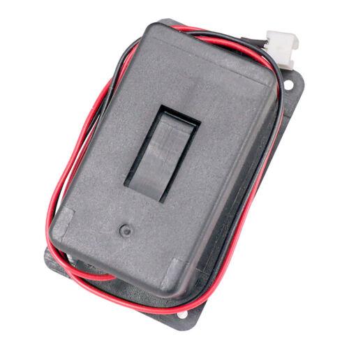 9-V-Batteriefach für aktiven Gitarrenbass mit Kontaktfeder und 2-poligem