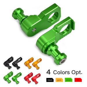 Fit-Kawasaki-Ninja-ZX6R-ZX-10R-Rear-Chain-Adjuster-Axle-Slider-Blocks-Spindle