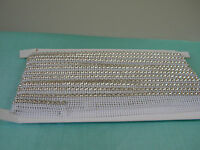 5 Yards Rhinestone Trim Crystal Banding Silver-white Net Ss19