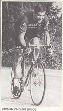 HERMAN VAN LOO Cyclisme 60s WILLEM II Gazelle Ciclismo Wielrennen radsport vélo