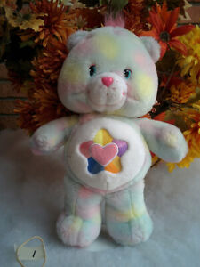 wOw-TALKING-TRUE-HEART-Care-Bear-12-034-Carlton-Cards-2004-TCFC-Toy-WorKs-GrEaT