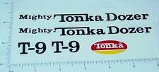 Mighty Tonka T-9 Bulldozer Sticker Set           TK-021