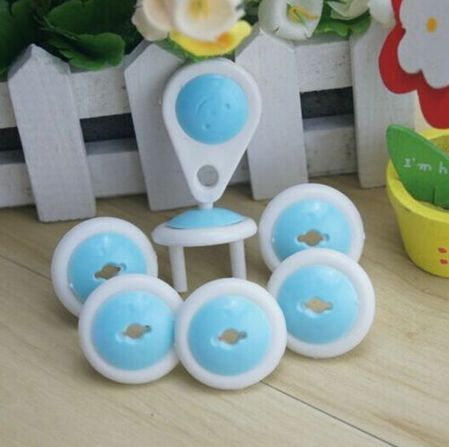 6X Baby Kids Electrical Safety Protective Socket Outlet Plug Safe Lock Cover AHY