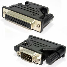 25 Pin Serial Female to 9 Pin Serial Male Adapter [002160]