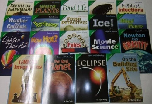 Grade 3 Scott Foresman Science Complete Set of 17 Advanced Level Readers 3rd