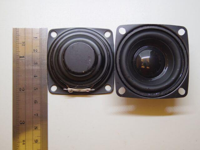 """2pcs 1.5/"""" inch 4Ohm 4Ω 3W Full Range Audio Speaker Stereo Woofer Loudspeaker"""