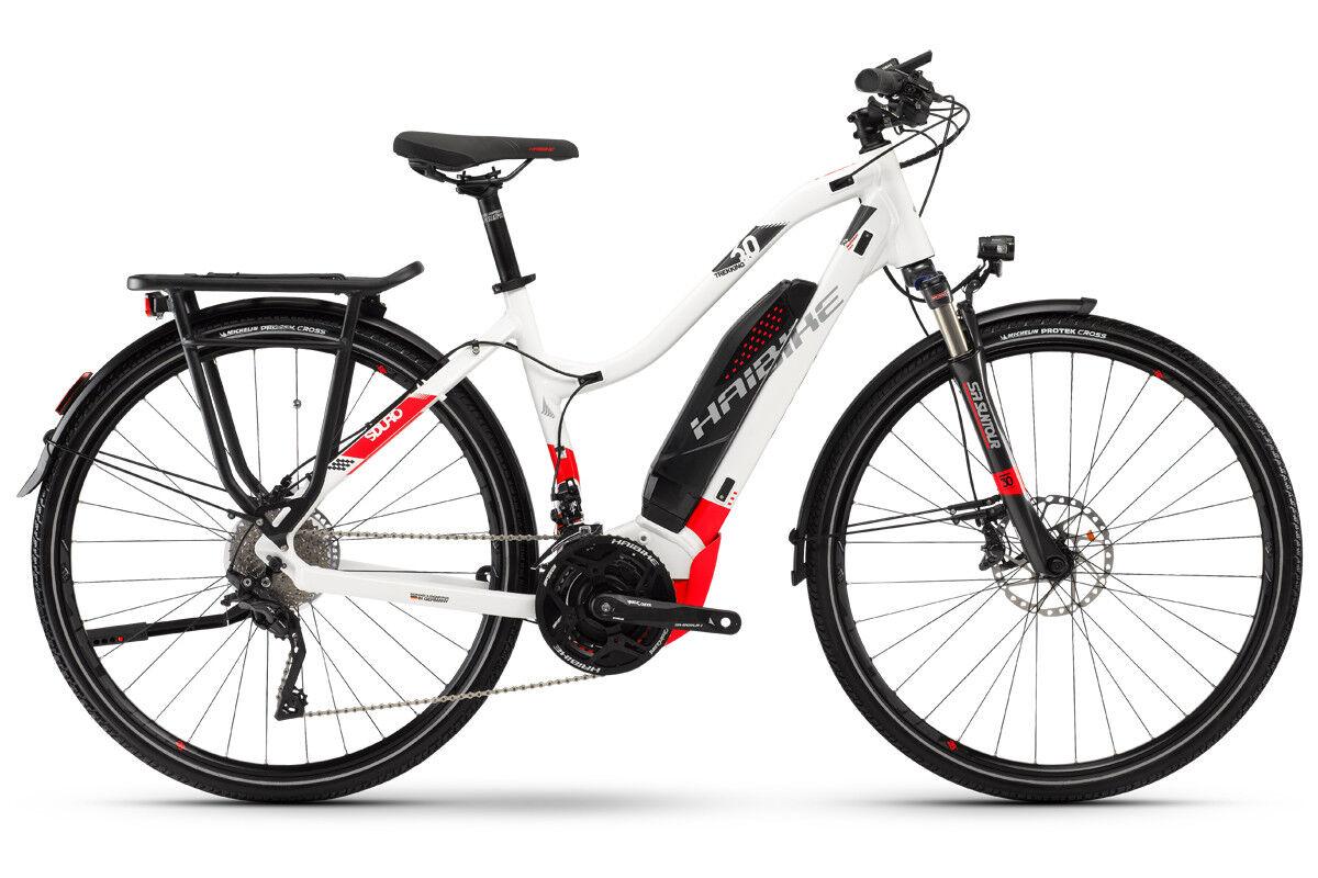 Haibike Damen Trekking Trekking Trekking 6.0 Elektro Fahrrad SDURO Yamaha 500Wh 20-G XT Gr.L 2018 02a2d9