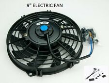 "Universal 9"" 254mm Radiator Electric Cooling Fan Slimline Front or Rear Mounted"
