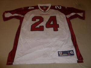 Details about ADRIAN WILSON REEBOK #24 ARIZONA CARDINALS JERSEY NFL EQUIPMENT SIZE XL