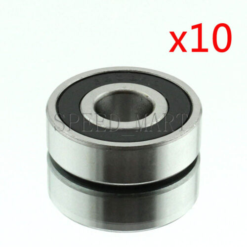 Details about  /10PCS 6303-2RS 6303RS Deep Groove Rubber Shielded Ball Bearing 17mm*47mm*14mm