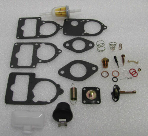 WITH  FLOATS  BUG BUS GHIA VW Carburetor 34//30//28 pict 3 ReBuild Kit Univ