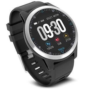 """Smartband Smartwatch Fitness Tracker Touscreen Bluetooth Schrittzähler EKG 1,3"""""""