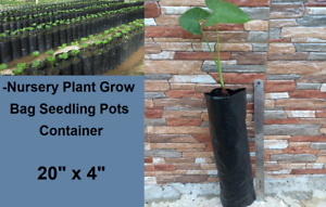 S-15-pcs-Nursery-Plant-Grow-Bag-Seedling-Pots-Container-Planting-Bags-20-034-x-4-034