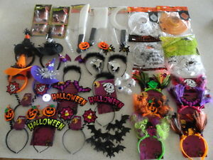 Halloween-Horror-headbands-spider-webs-weapons-lantern-eyeballs