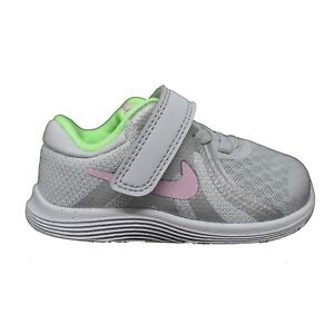 884ab2f7e5c04 NIKE REVOLUTION 4 TDV GREY Girl s Shoes Sneakers Baby girl 943308 ...