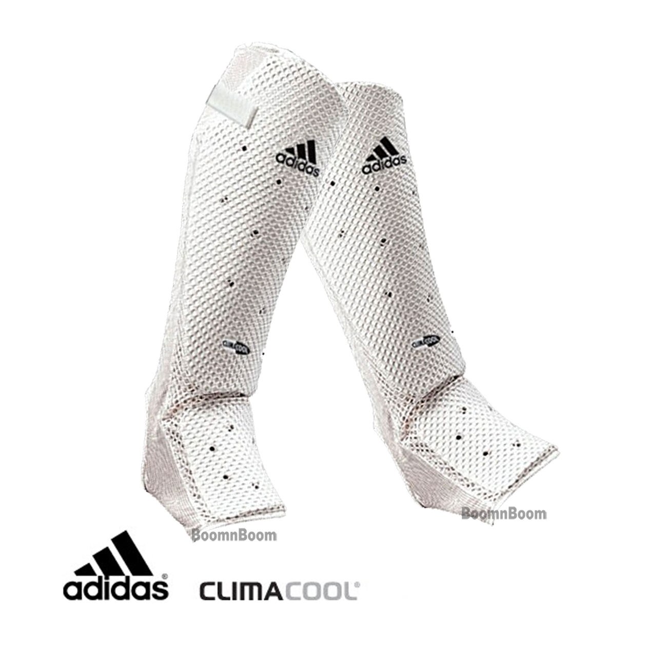 New adidas Karate  Taekwondo Microlight Mesh Shin Instep Guard Predector Sparring  save 50%-75%off
