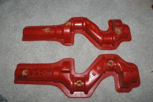 Vintage-Solid-Wood-2-part-Engine-Crankshaft-pattern-Foundry-Casting-Mold-12-1-2-034