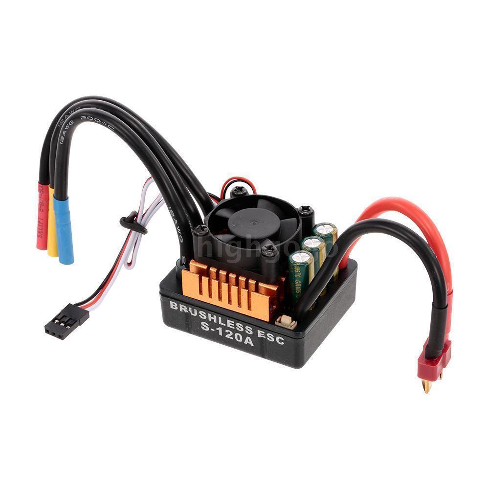 High energia Rc auto 120A Brushless Esc For  Traxxas Losi Associated Hpi Arrma  online al miglior prezzo
