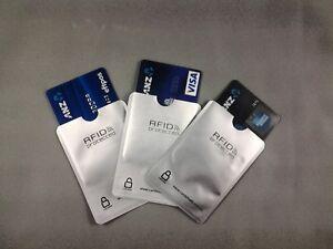 RFID BLOCKING SLEEVE 2 x CardShield™ IDENTITY THEFT PROTECTION