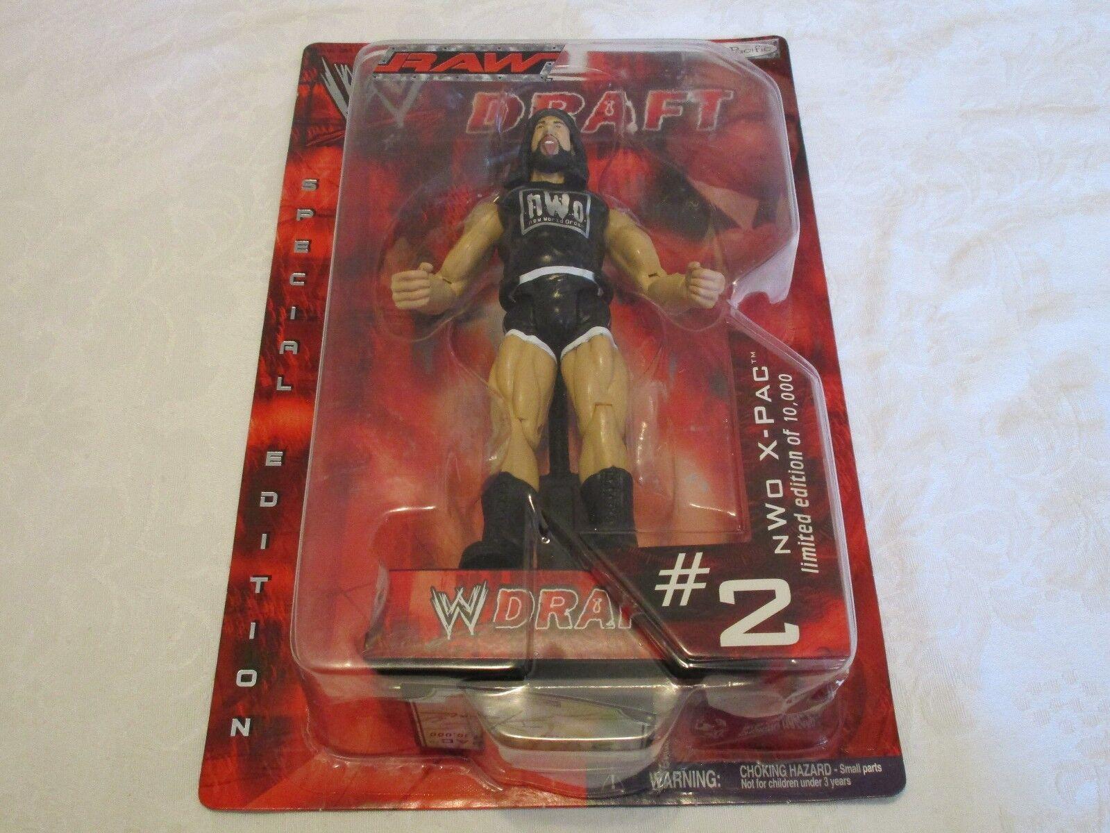 Jakks Pacific WWE Draft Raw NWO X-PAC  2 Action Figure