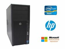 HP Z420 Workstation Intel Xeon Quad Core 3.6GHz, No RAM No HD No Video 600W PSU