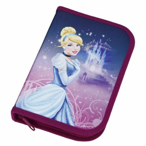 Disney Princess Federmappe gefüllt 30-teilig Schüleretui Prinzessin Cinderella