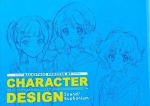 Hibike Sound Euphonium CHARACTER DESIGN Art book Kyoto Animation KyoAni