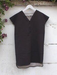 el más nuevo venta oficial ahorre hasta 60% Detalles de Hoss Intropia Gris Vestido Túnica Size Uk 12 ropa de moda  diseñador único BNWT- ver título original