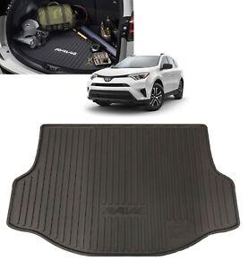 Black All Weather 3D Cargo Liner Trunk Mat for 2013-2018 Toyota RAV4