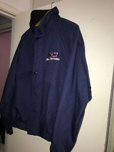 B-amp-M-RACING-Performance-Pit-Crew-Salesman-Employee-Jacket-Xl-USA-Made-Vtg-90s
