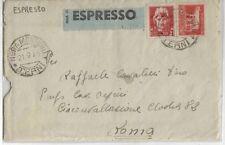 1945 espresso lire 5+2 da Nera Montoro - Terni