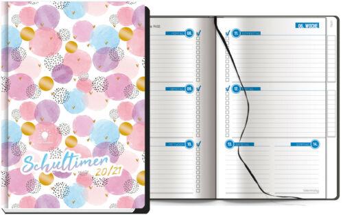 Hausaufgabenheft Schülertimer Schülerkalender Timer Schulplaner 2020//2021