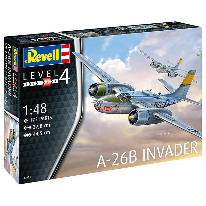 REVELL 1 48 KIT AEREO A-26B INVADER ART. 03921