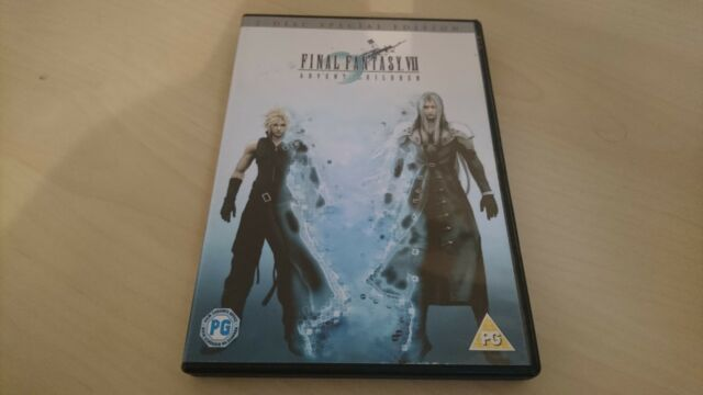 Final Fantasy VII - Advent Children (DVD, 2006, 2-Disc Set, Animated)