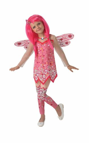 Filles deluxe mia /& me costume rose fairy child fancy dress party outfit