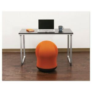 Miraculous Safco Products Saf4760Or Zenergy Swivel Ball Chair Orange Unemploymentrelief Wooden Chair Designs For Living Room Unemploymentrelieforg