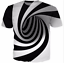3D-Hypnosis-Swirl-Print-Mens-Womens-Casual-T-Shirt-Short-Sleeve-Graphic-Tee-Tops thumbnail 5