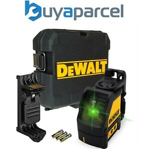 Dewalt Dw088cg Green Cross Line Laser Level Self Levelling