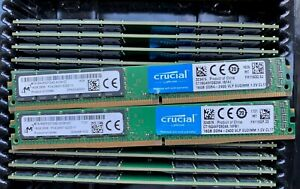 Crucial-Micron-TWO-16GB-PC4-19200-DDR4-2400-RAM-VLP-EUDIMM-CT16G4XFD824A-32GB