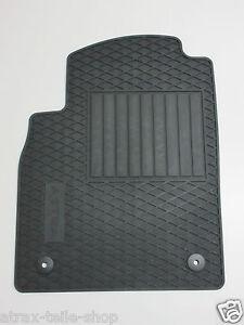 satz original opel astra j gummimatten schwarz matten 1724001
