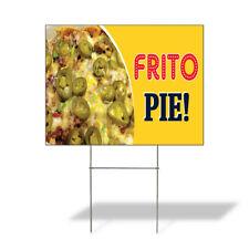 Weatherproof Yard Sign Frito Pie Outdoor Advertising Printing Lawn Garden Delis